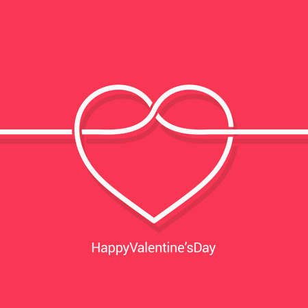 happy holidays: valentines day concept design vector background 10 eps Illustration