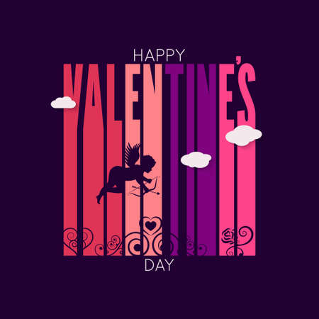 elysium: valentines day design vector background 10 eps Illustration