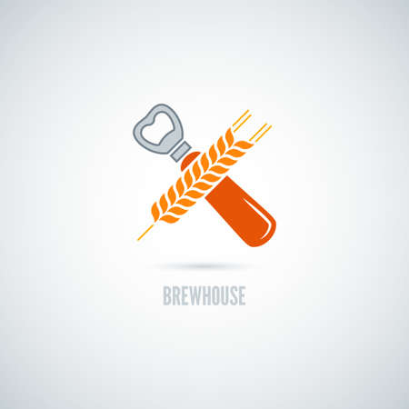opener: beer opener concept design Illustration