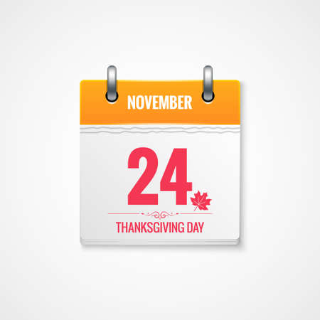 event calendar: Thanksgiving Day calendar event background
