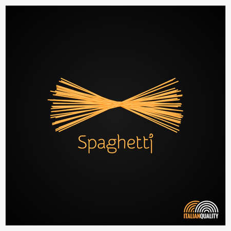 Spaghetti pasta design