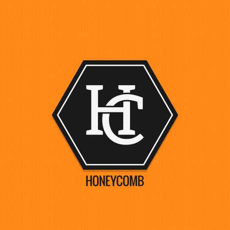 Honey comp design. Ilustração