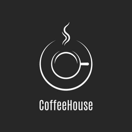 Coffee cup design. Фото со стока - 129319158