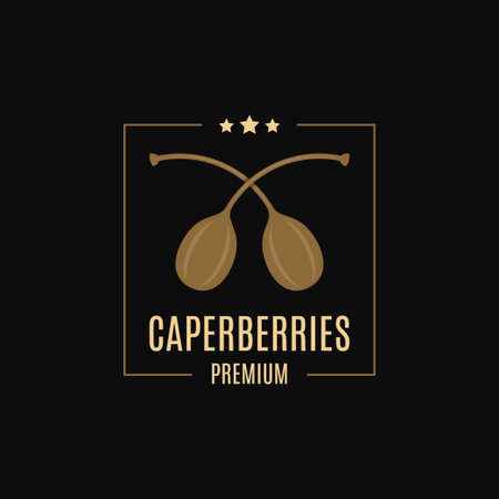 Caperberries logo design