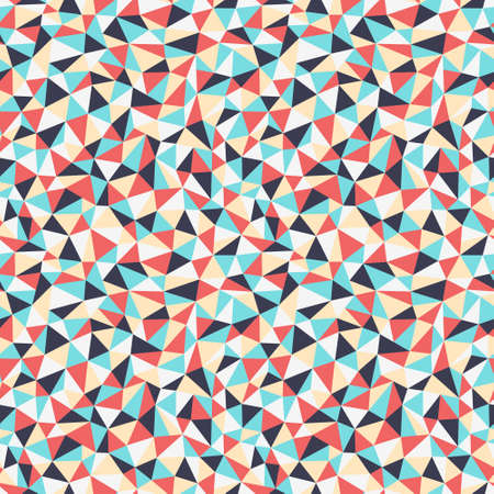 Triangles seamless pattern Illustration