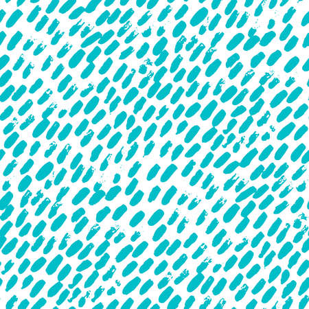 Abstract hand drawn seamless pattern, brush strokes texture