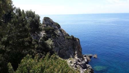 Paleokastritsa Cliff