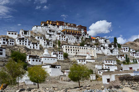 monastery nature: This is a photo of monastery in India Stock Photo