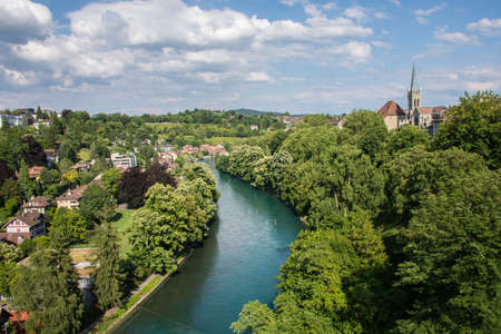 river view: River view in Bern,Switzerland