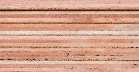 ply: Border pattern plywood stacked multiple. Stock Photo