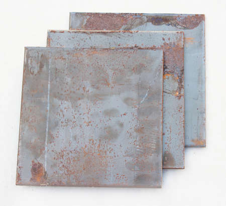 rust: Rust on old metal plates. Stock Photo