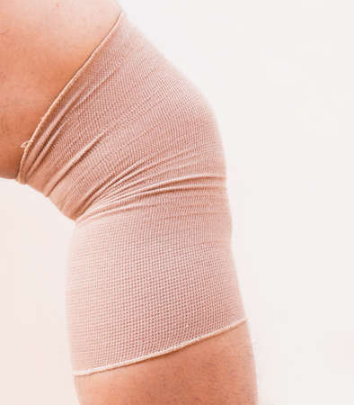 muscle strain: Knee injury or muscle strain or twisted  knee