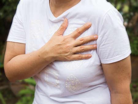 dolor de pecho: duele el coraz�n o dolor en el pecho.