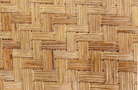 wickerwork: texture of weave mat