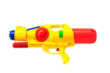 Water gun isolated on white background photo