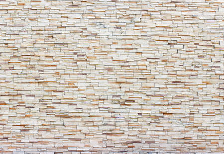 brown pattern: Pattern of old brown bricks wall for background Stock Photo