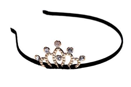 desing: Headband with diamond tiara desing
