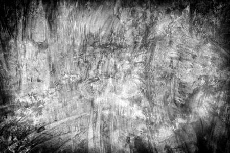 Texture of the gray polished concrete wall mixed powder color with scratches for background Reklamní fotografie