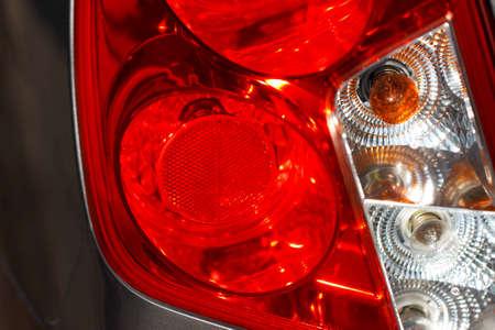 taillight: car lamp close-up