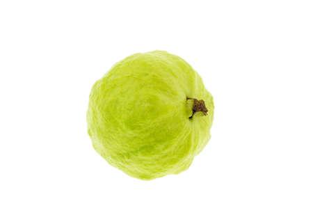 Guava fruit a la peau verte et une chair blanche, de la vitamine C. Banque d'images - 47867608