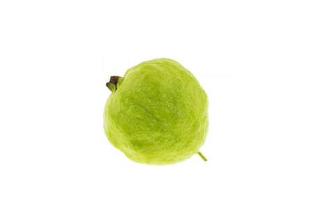 Guava fruit a la peau verte et une chair blanche, de la vitamine C. Banque d'images - 47867712