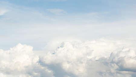 Blanc fond de nuage Banque d'images - 47868870