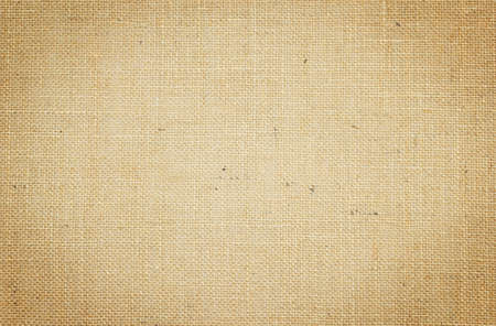 brown flax: sackcloth textured for background. Stock Photo