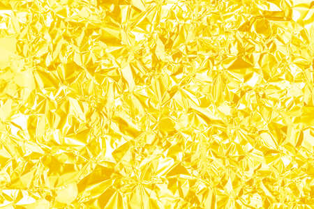 Silver foil background with shiny crumpled uneven surface for texture and background Фото со стока