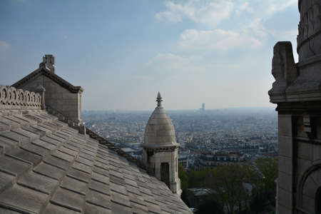 sacre: View from Sacre coeur on Paris