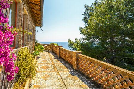isola: Isola Bela in Taormina in Sicily, Italy