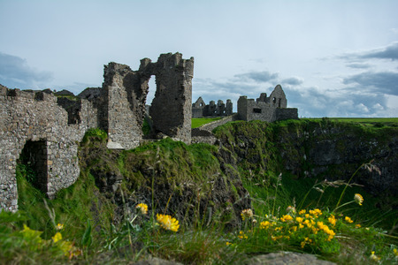 Dunluce Castle, wild atlantic way, Ireland