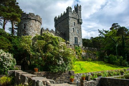 Castello di Glenveagh a Glenveagh National Park Archivio Fotografico - 40537301