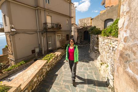 taormina: Castelmola in Sicily Italy near Taormina