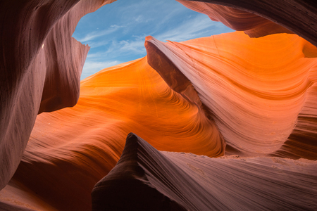slot canyon: Antelope Canyon, Arizona
