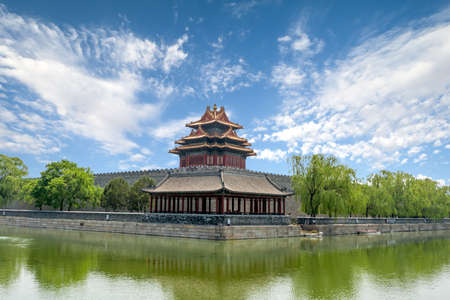 Forbidden City in Beijing in China