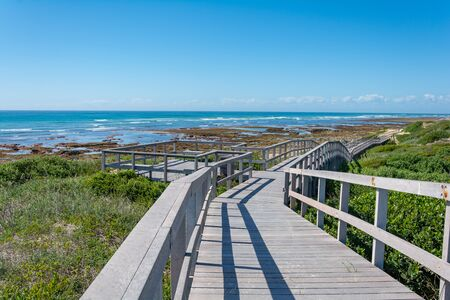 Beachwalk in Port Elisabeth in South Africa