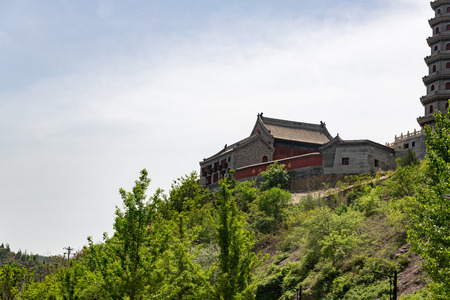 Gubei watertown in Simatai in Beijing in China, replica of an ancient Chinese village Reklamní fotografie