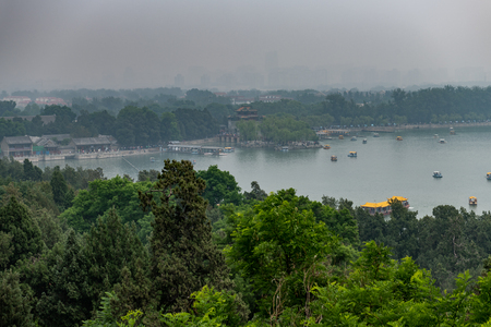 Summerpalace in Beijing China at a cloudy day in May time