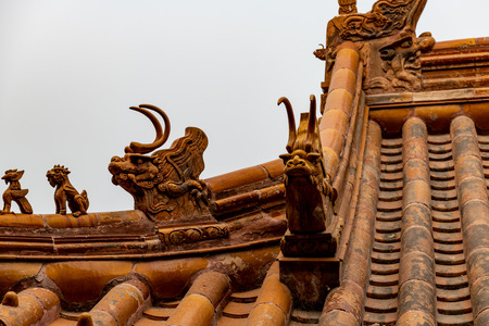 Chinese roof decoration - the dragon