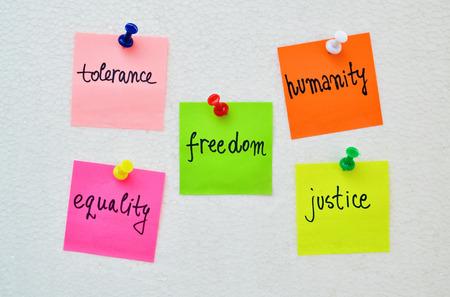equidad: Expresi�n conceptual del deseo de un mundo m�s humano Foto de archivo