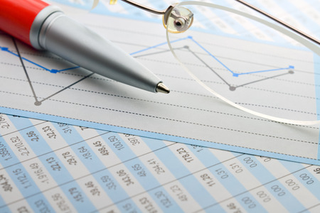 statistical: Tabulation of statistical data and business analysis in the office