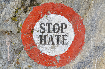 hatred: Text message as appeal to combat hatred and intolerance between people