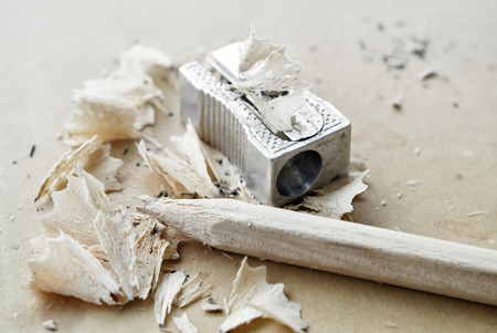 sharpen: Failed attempts to sharpen a pencil and perseverance towards the goal