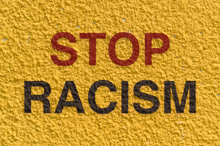 apartheid: Appeal to stop racism and achieve equality among the races in the world