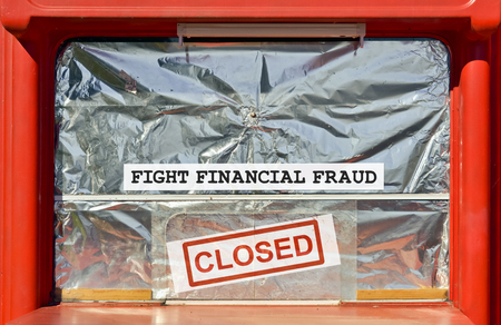 taxpayer: Closed kiosk by the financial inspection for financial fraud