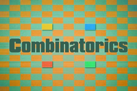 discrete: Design which relates to the branch of mathematics named Combinatorics