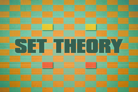 relates: Design which relates to the branch of mathematics named Set Theory