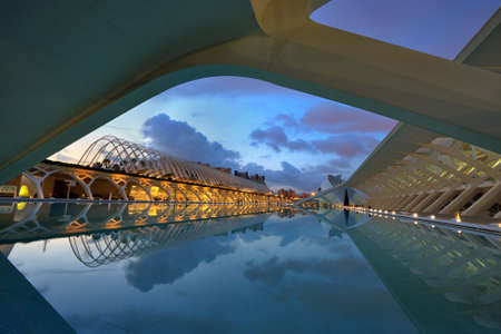 hemispheric: City of the arts and the sciences  in Valencia Spain