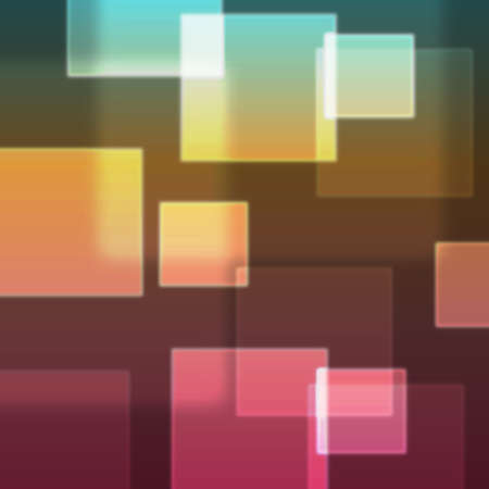 illustration, colored squares - abstract  background Vector