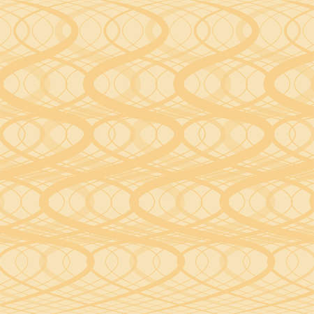 modulations: Beige background - abstraction with twisting strips Illustration